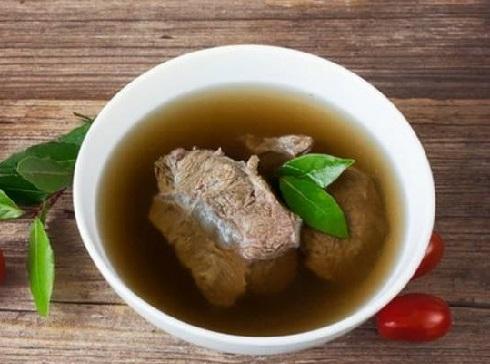 бульон из свинины рецепт
