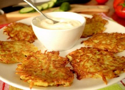 картофельные оладья - драники