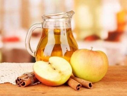 компот из яблок с корицей