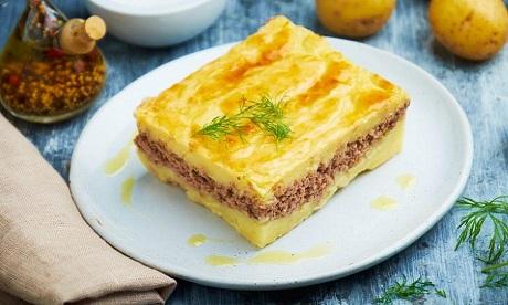 рецепт картофельной запеканки с фаршом