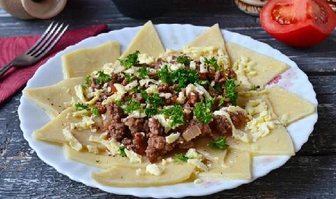 азербайджанский хинкал рецепт