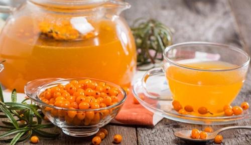 облепиховый чай с имбирем и медом рецепт