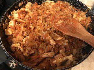 вкусная капуста тушеная рецепт с курицей