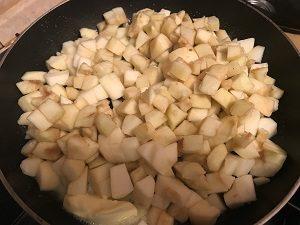 яблоки для крамбла
