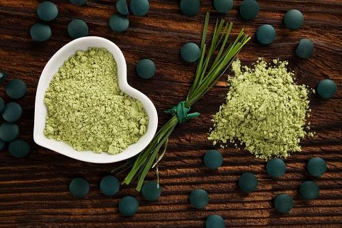водоросли спирулина и водоросли хлорелла