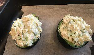 запеченный авокадо рецепт