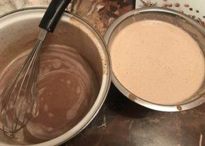 молочно шоколадное мороженое