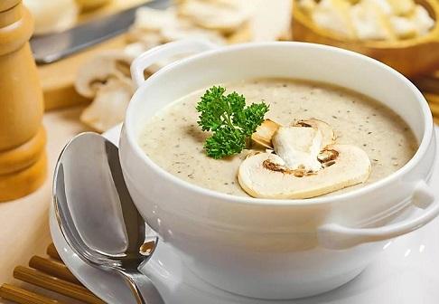 суп пюре из шампиньонов рецепт