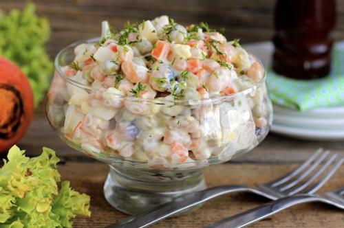 салат с сельдью рецепт