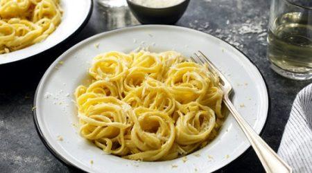паста с лимонным соусом