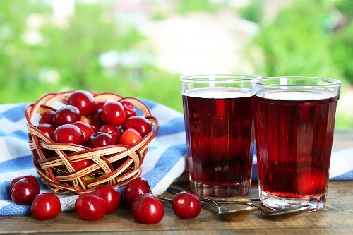 морс из вишни рецепт