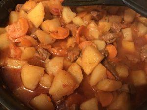 жаркое с картофелем по домашнему