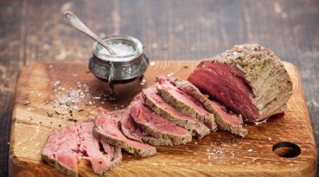 ростбиф из говядины классический