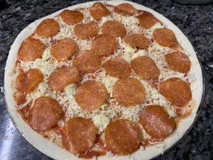 начинка пиццы пеперони