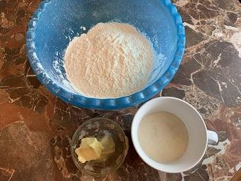 набор продуктов для теста для булочек