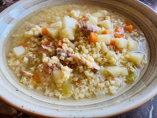 рыбный суп с пшеном рецепт