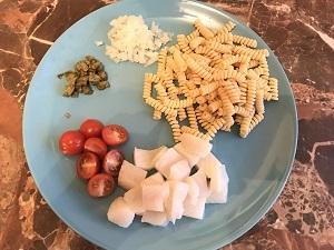 итальянская паста с рыбой рецепт