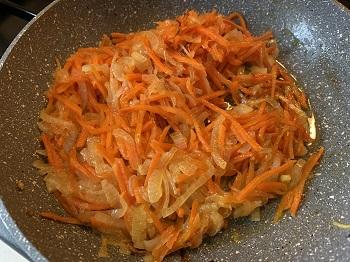 пассеровка из лука и моркови