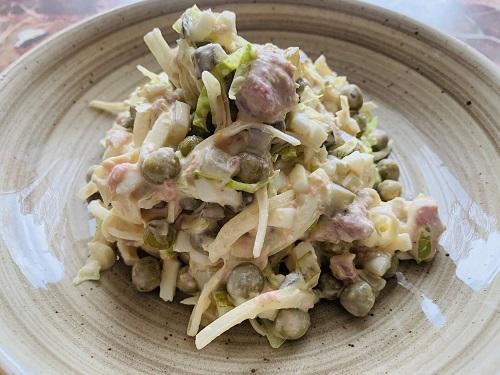рыбный салат рецепт