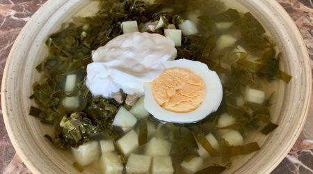 зеленые щи с щавелем и яйцом рецепт