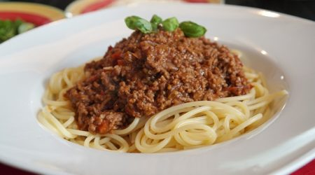 спагетти болоньезе в домашних условиях